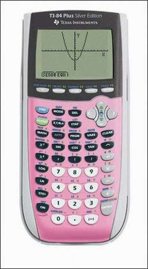 Old: Expensive, bulky calculatorsThis TI-84 can cost more than $100, but there's an easy fix: Download the graphing calculator smart-phone app for $1.99.