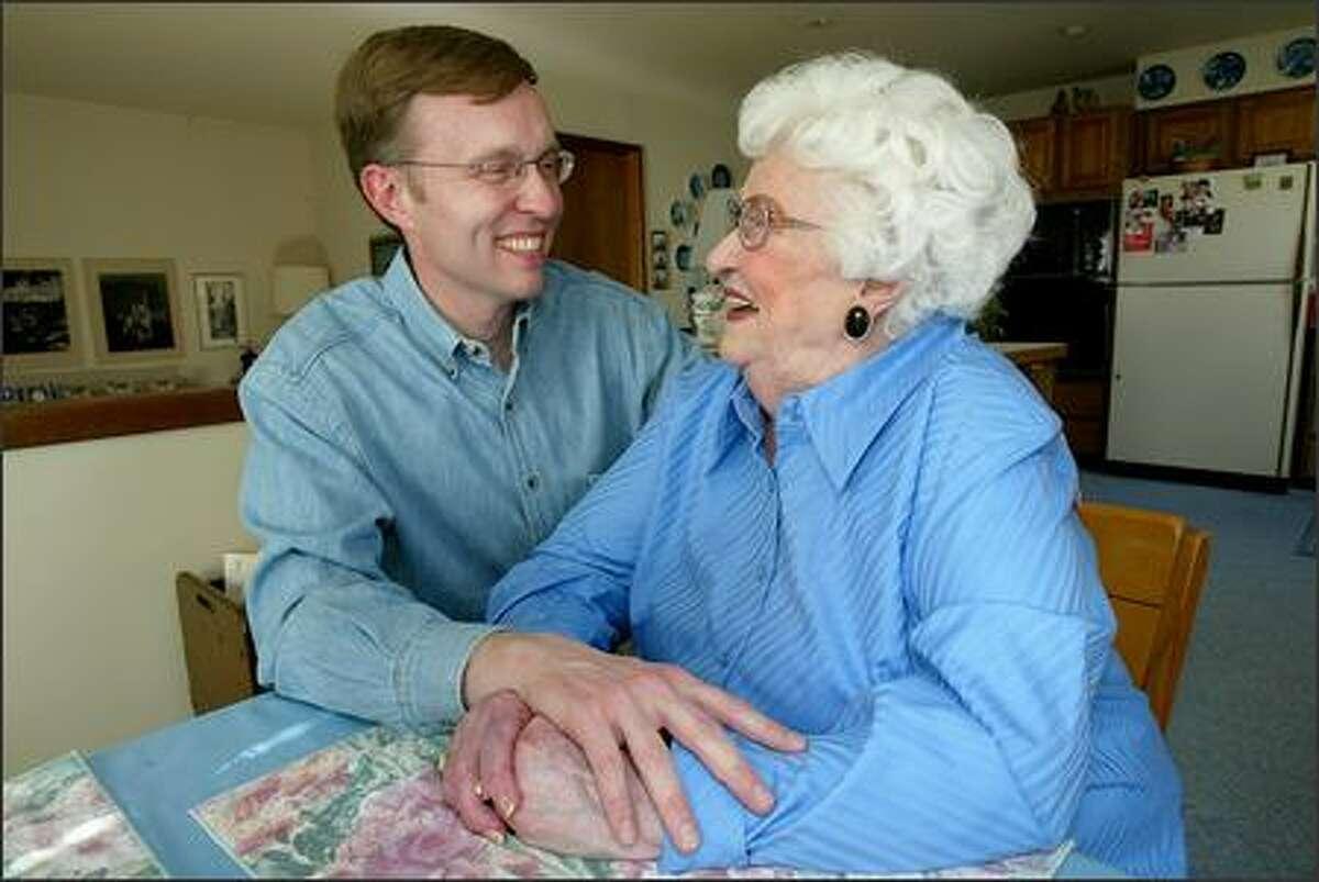 Rob McKenna, Washington state attorney general; his mom is Bonnie McKenna: She put the