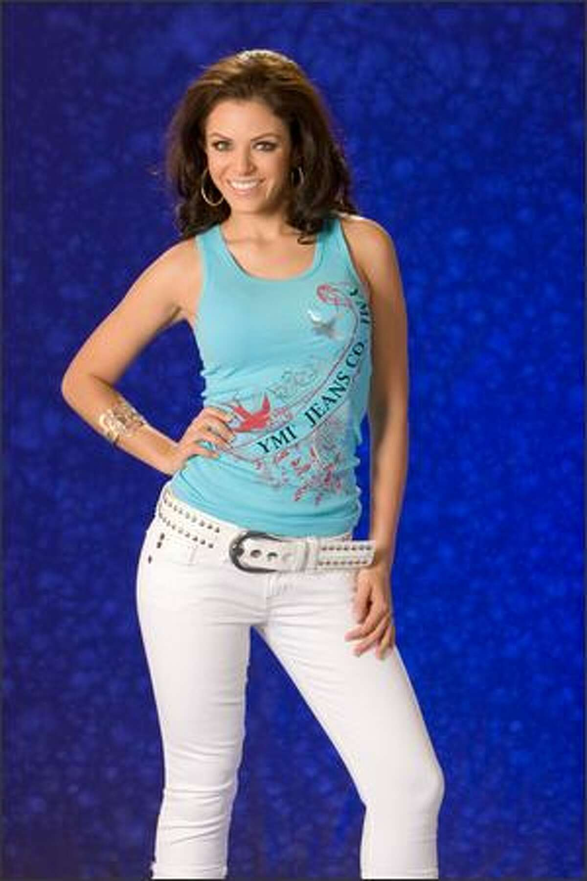 Carolina Raven, Miss Aruba 2007.