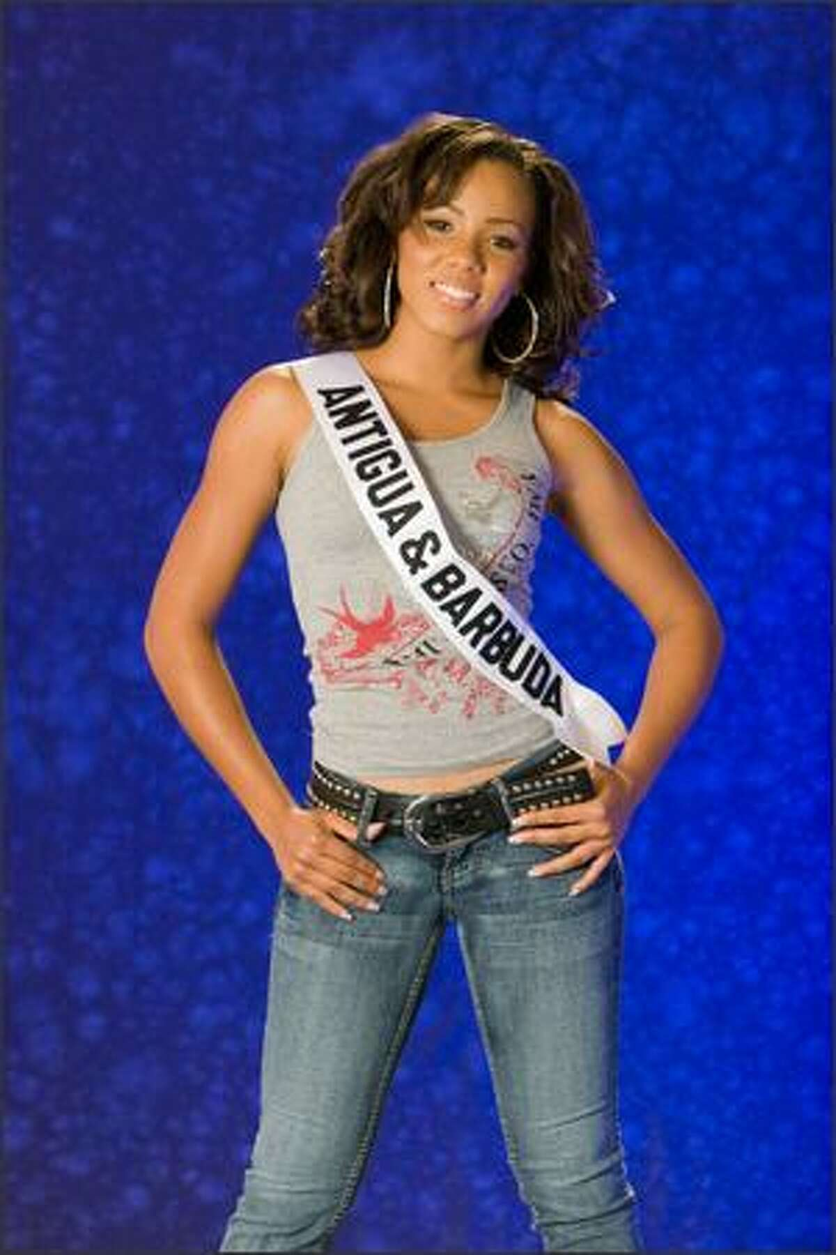 Stephanie Winter, Miss Antigua & Barbuda 2007.