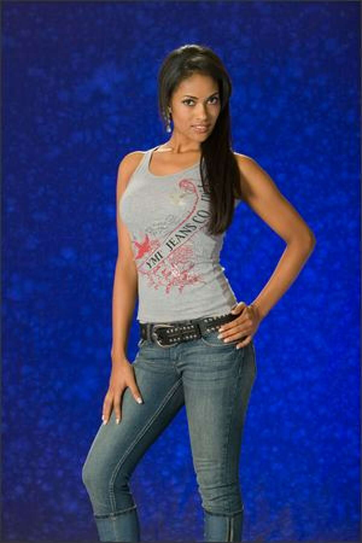 Micaela Reis, Miss Angola 2007.
