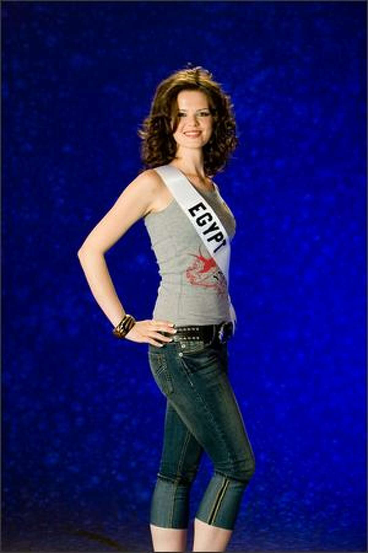 Ehsan Hatem El Kidany, Miss Egypt 2007.