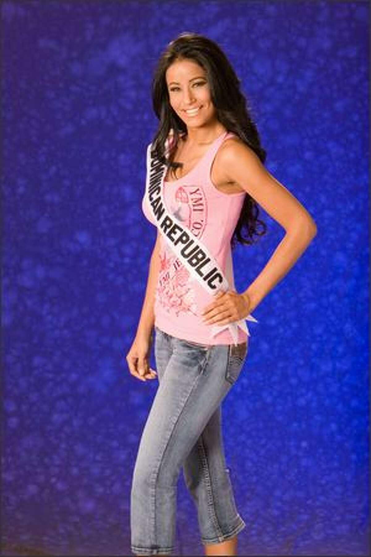 Massiel Taveras, Miss Dominican Republic 2007.
