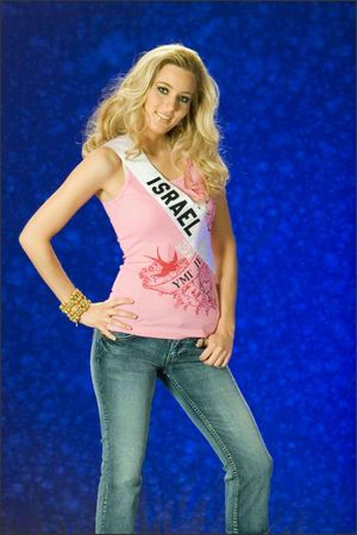 Sharon Kenett, Miss Israel 2007.