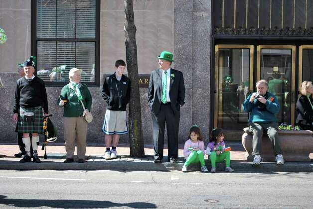 Bridgeport's St. Patrick's Day Parade on Thursday March 17, 2011. Photo: Lauren Stevens/Hearst Connecticut Media Group
