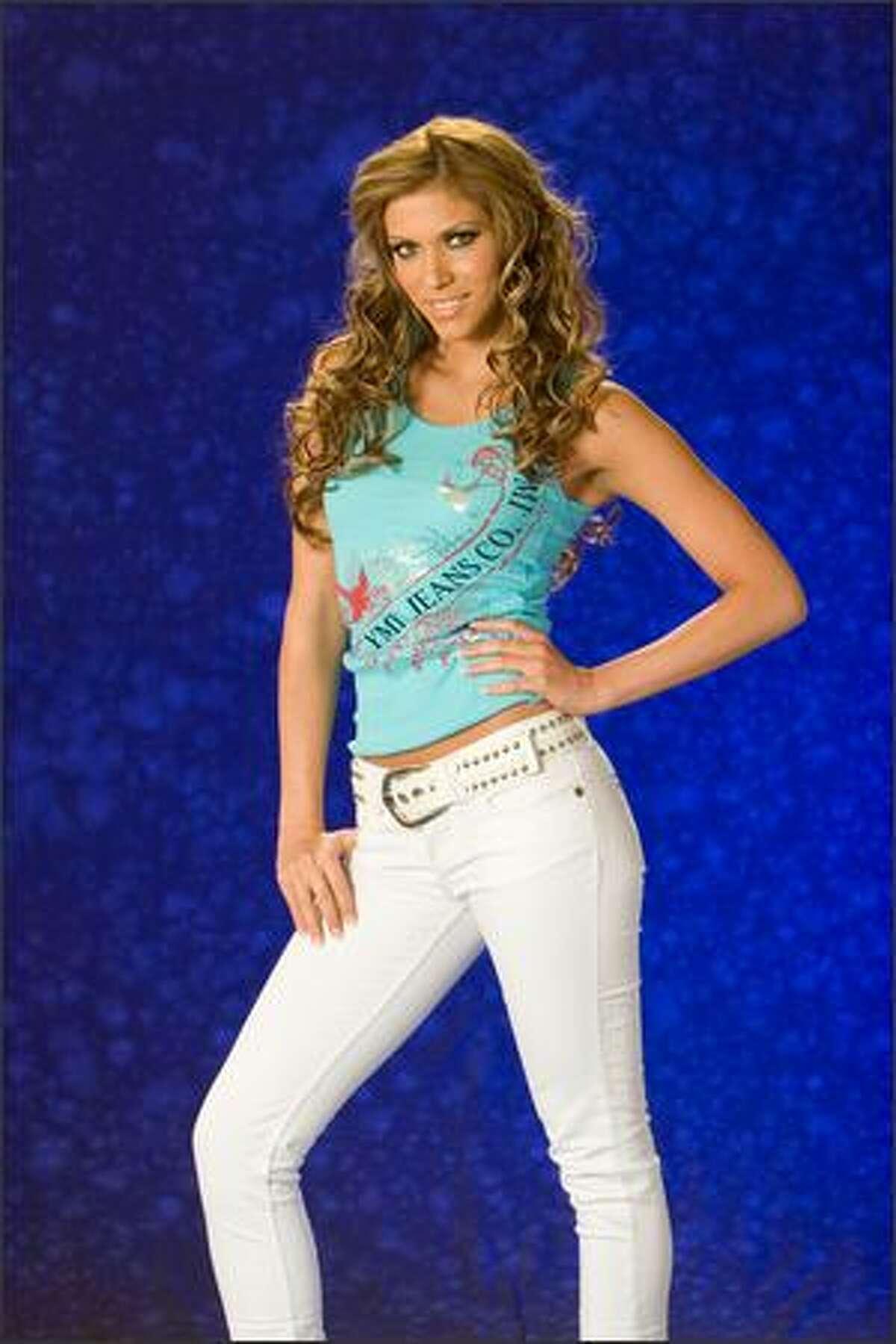 Alida Boer, Miss Guatemala 2007.