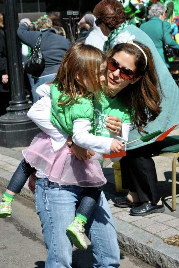 Bridgeport's St. Patrick's Day Parade on Thursday March 17, 2011. Photo: Lauren Stevens/Hearst Connecticut Media Group