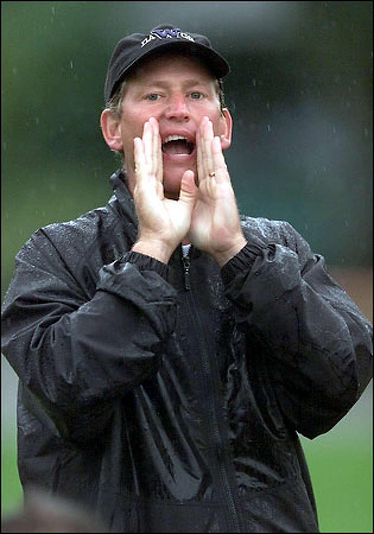 Huskies coach Rick Neuheisel knows his critics are many.