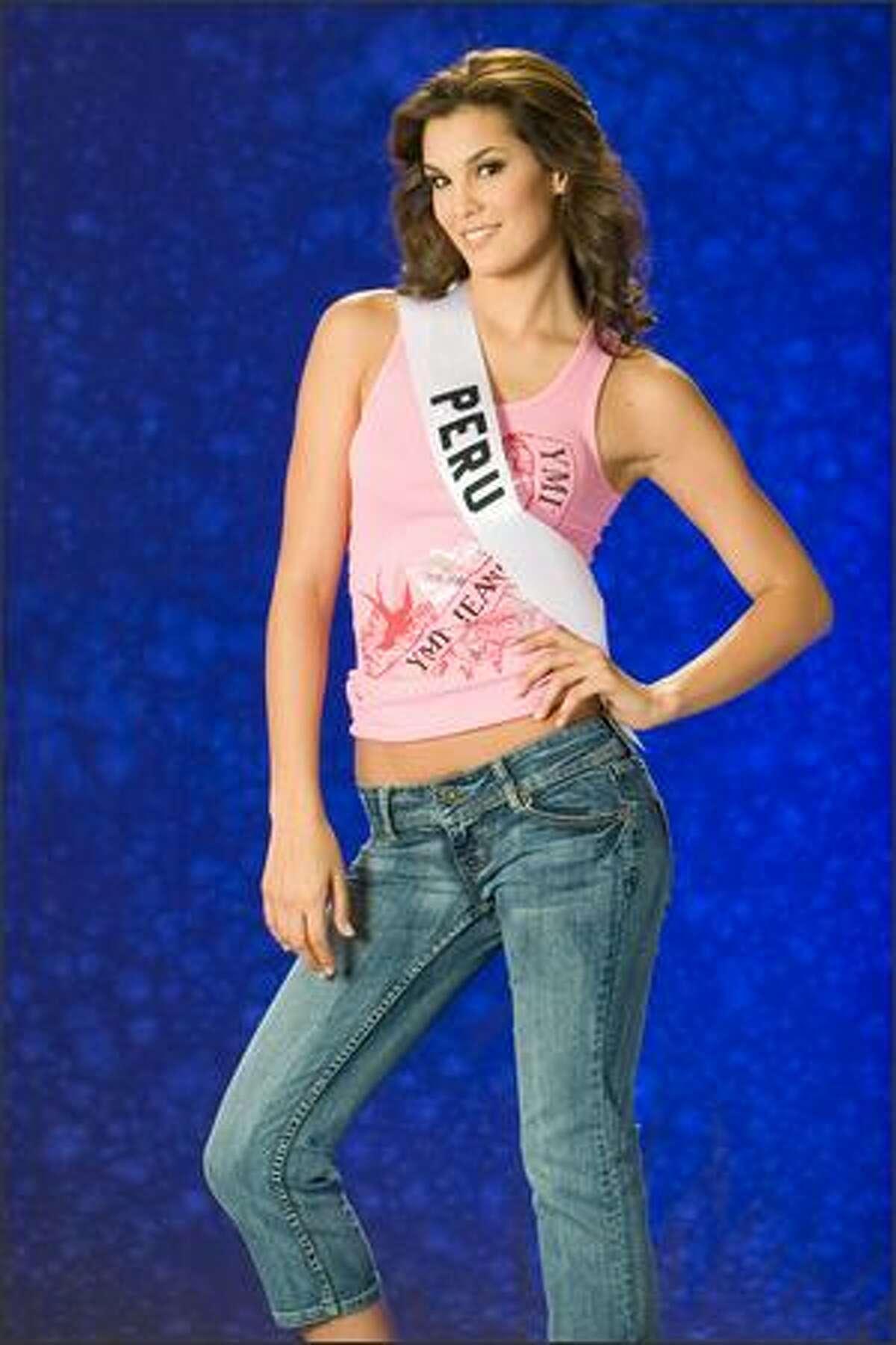 Jimena Elias, Miss Peru 2007.