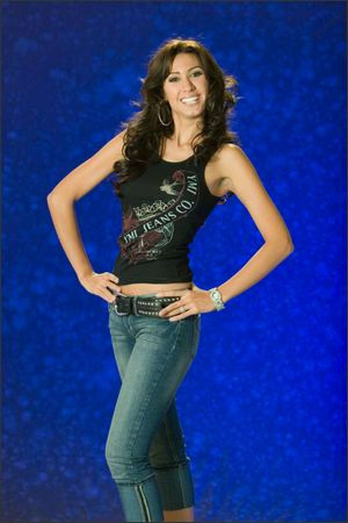 Giannina Silva, Miss Uruguay 2007.