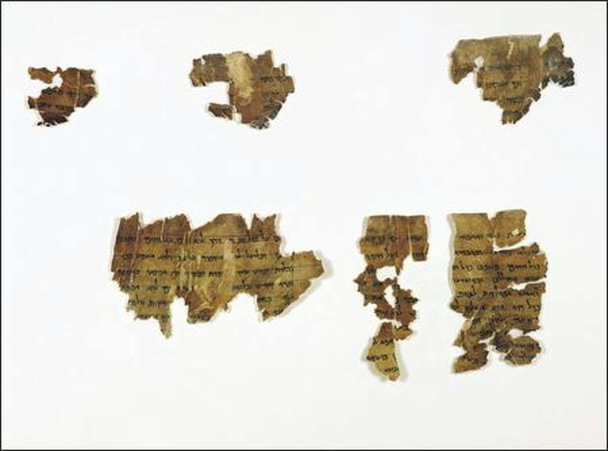 Parchment, Hebrew language Written 1st century B.C.E. - 1st century C.E. Also known as The Manual of Discipline, it contains rules ordering the communal life of the Dead Sea sect. The rules of life deal with the manner of joining the group, the relations between members, their way of life and their beliefs. The large number of surviving fragments of this scroll indicate its importance to the sect.