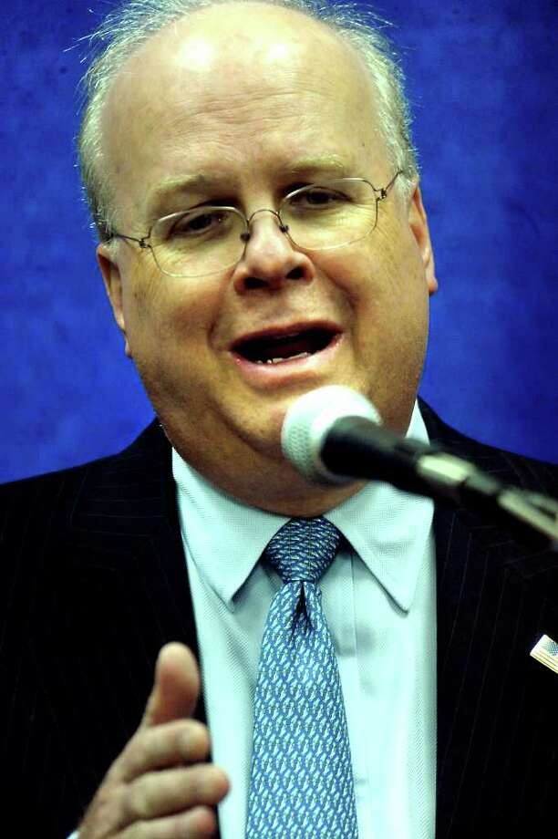 Karl Rove is the keynote speaker for the Texas Energy Museum Blowout fundraiser at the Beaumont Civic Center in Beaumont, Thursday. Tammy McKinley/The Enterprise Photo: TAMMY MCKINLEY / Beaumont