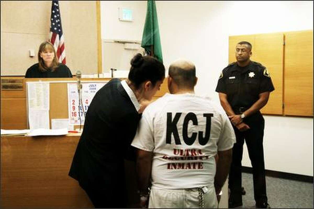 Naveed Afzal Haq, 30, at the King County District Court.