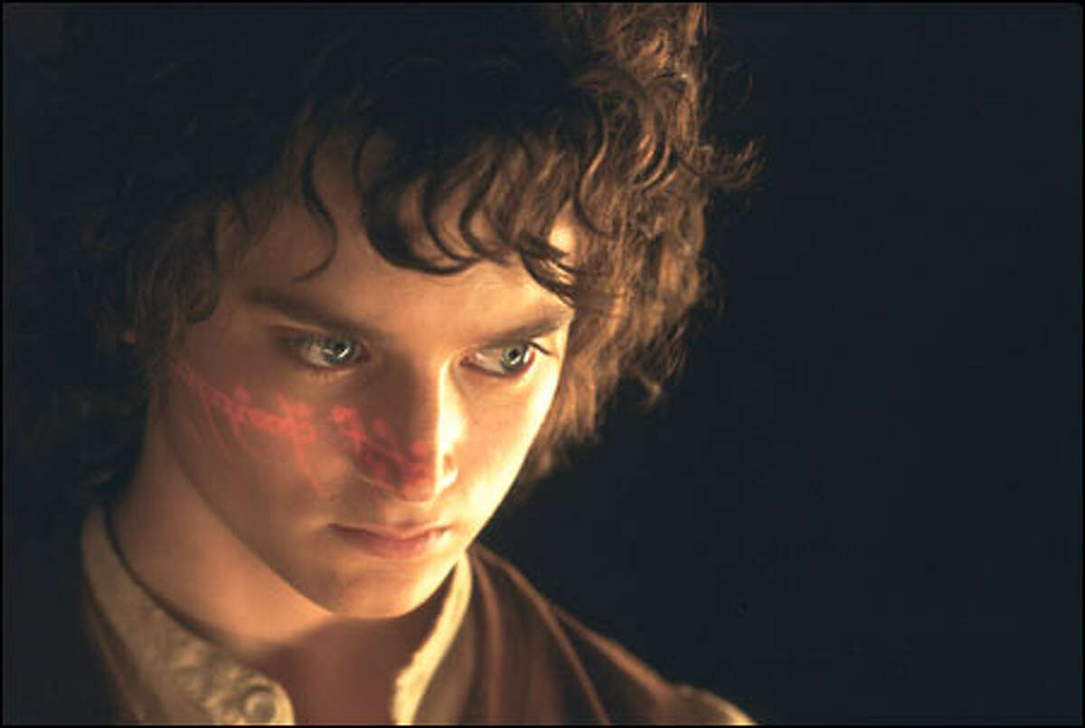 Frodo (Elijah Wood) confronts his destiny.