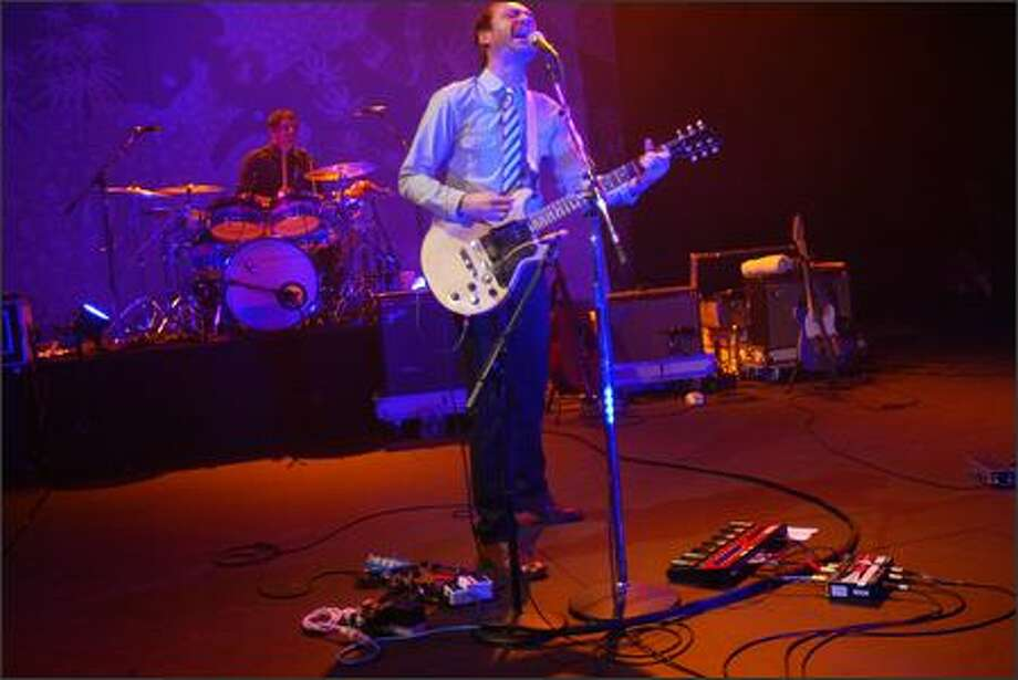 The Shins perform at the Paramount Theatre. Photo: Karen Ducey, Seattle Post-Intelligencer