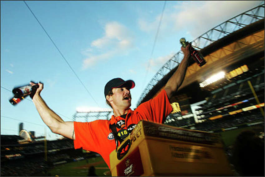 Beer at baseball games - it's a proud tradition. Vendors' shouts of