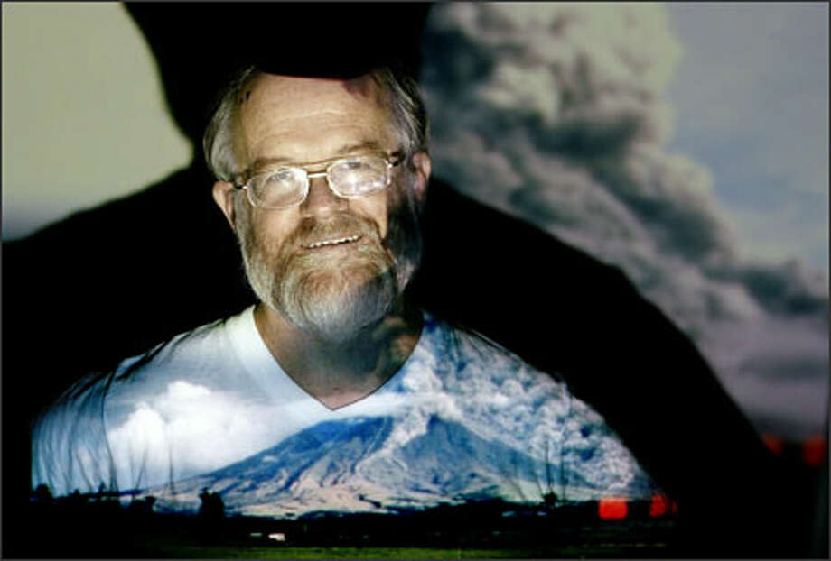 Chris Newhall, one of the world's leading volcano scientists, is leaving Seattle and moving to a small village in the Philippines to live near Mayon Volcano, where he'll create a database tracking the behavior of volcanoes around the world. Photo: Dan DeLong/Seattle Post-Intelligencer