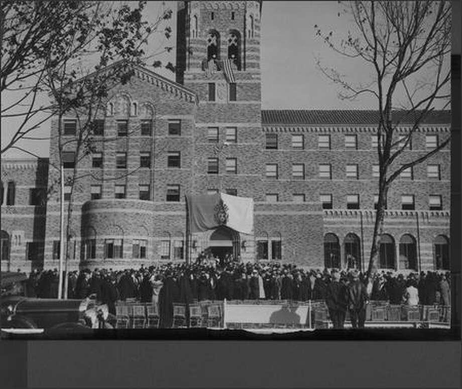 St. Edward's Seminary, 1931 Photo: P-I File