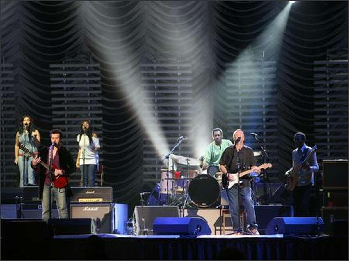 Eric Clapton plays KeyArena.