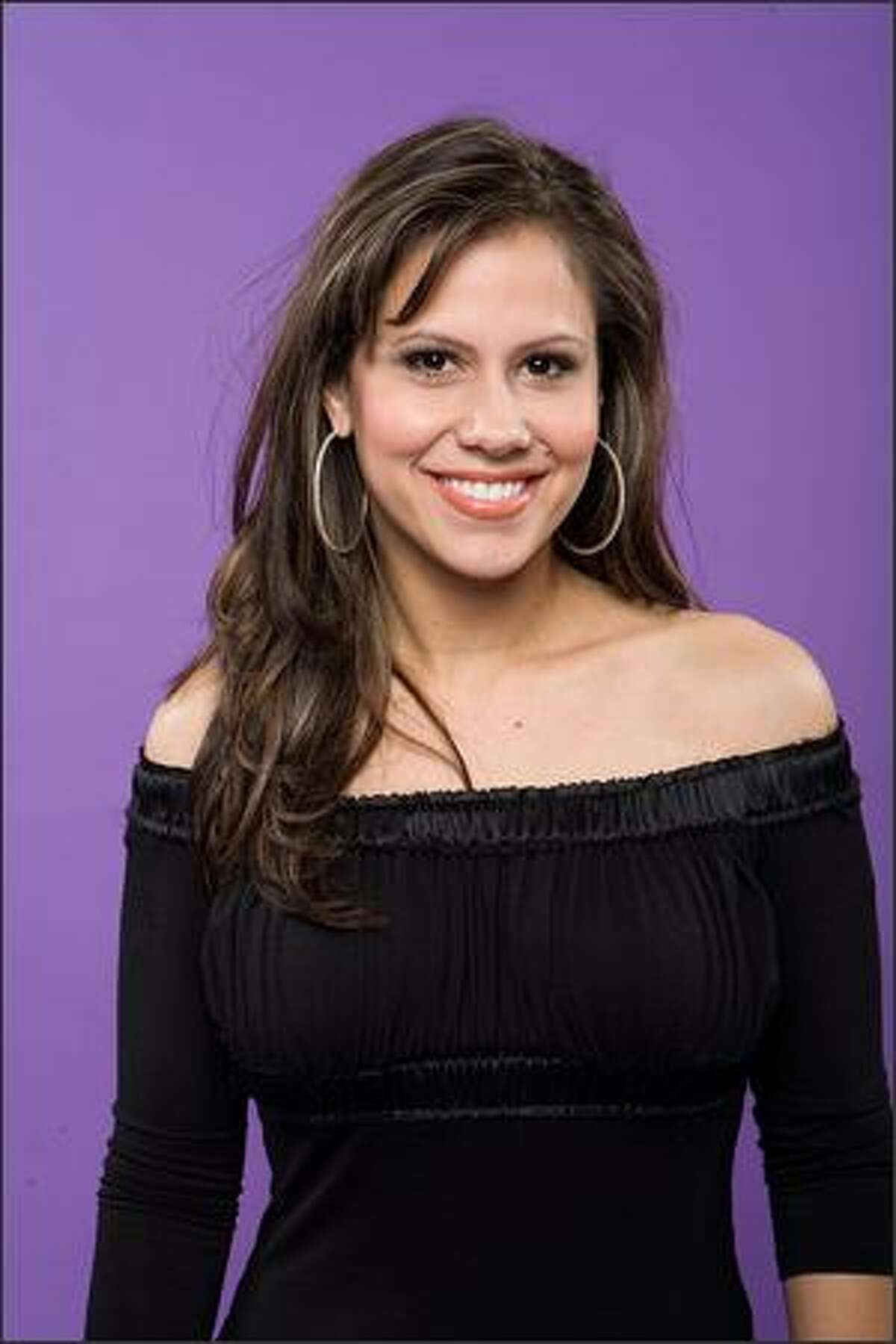 """Haley Scarnato poses for her official """"American Idol"""" cast photo."""