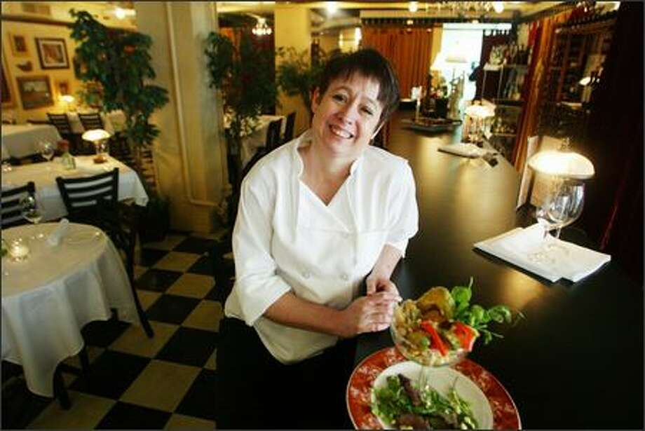 Celinda Norton's upbeat 94 Stewart makes dining enjoyable when you're with people who like what they're doing. Photo: Karen Ducey/Seattle Post-Intelligencer