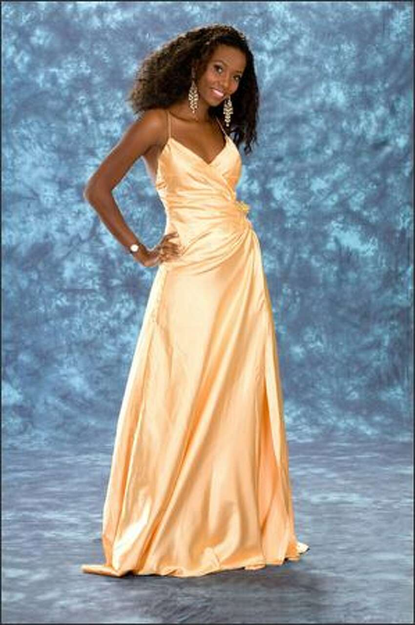 Amanda Ole Sulul, Miss Tanzania 2008, is 20 and wants to be an actress.