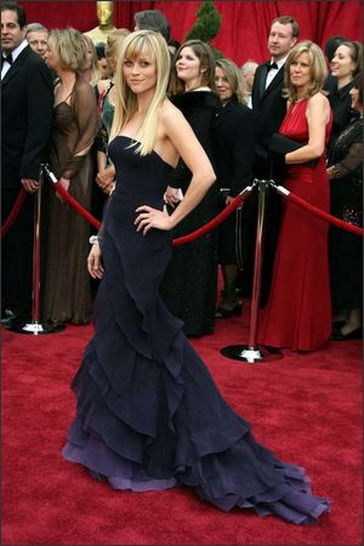 Actress Reese Witherspoon attend the 79th Annual Academy Awards. (Frazer Harrison/Getty Images)