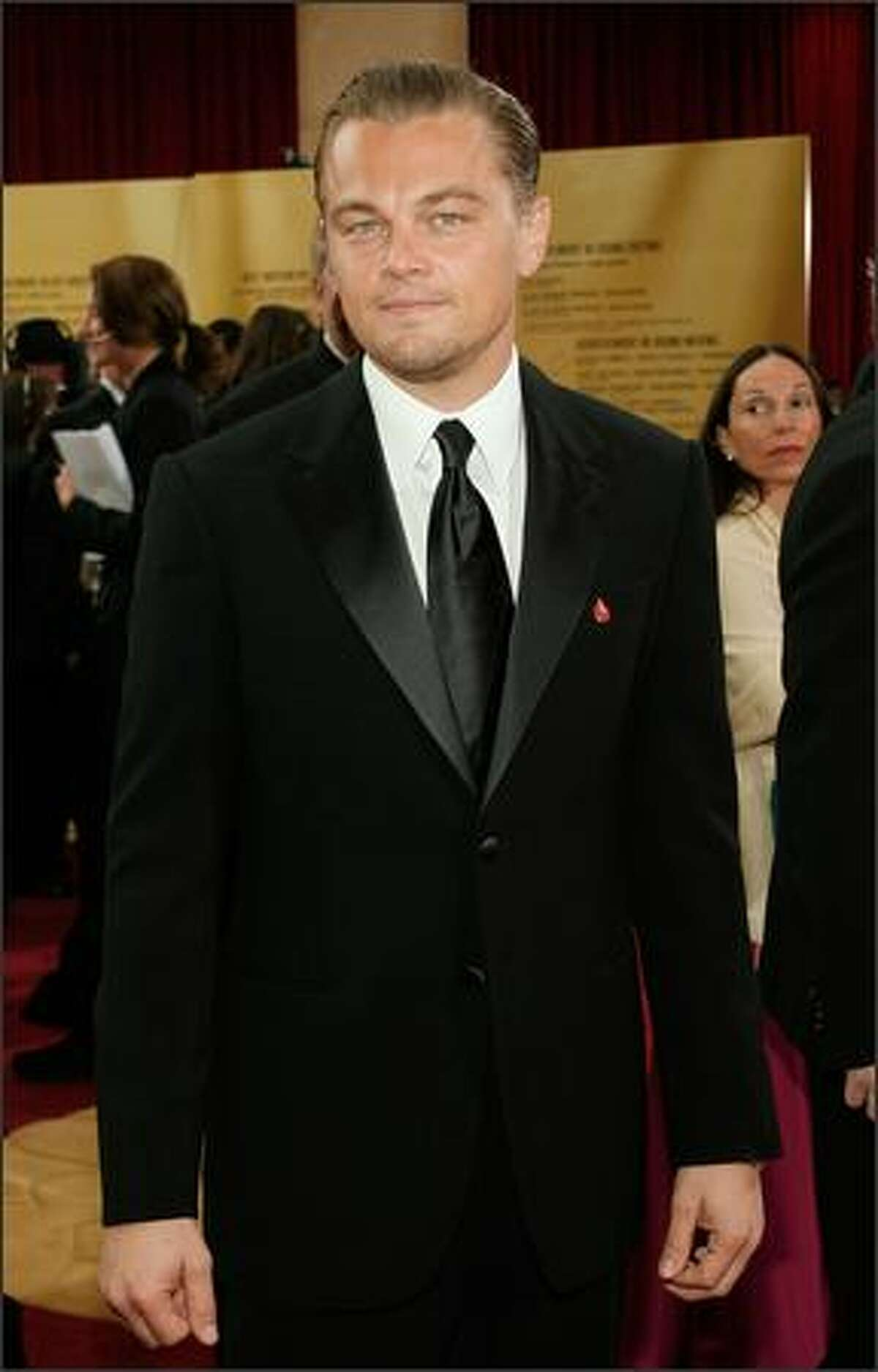 Actor Leonardo DiCaprio attends the 79th Annual Academy Awards. (Vince Bucci/Getty Images)