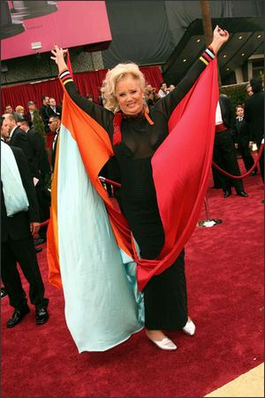 Actress Sally Kirkland attends the 79th Annual Academy Awards. (Frazer Harrison/Getty Images)