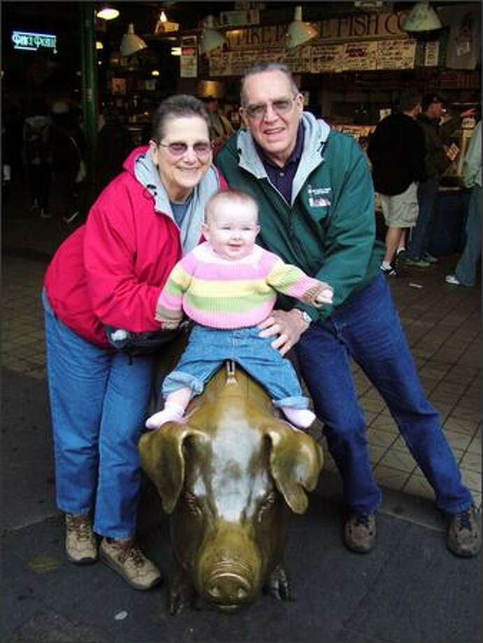 Maddie and her grandparents (submitted by ktcrabtree).