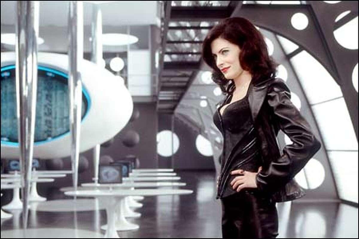 Lara Flynn Boyle stars as Serleena, an evil Kylothian monster who threatens Earth in