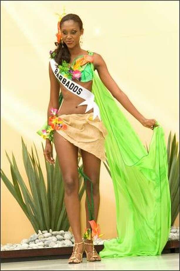 Jewel Garner, Miss Barbados 2007. Photo: Miss Universe L.P., LLLP