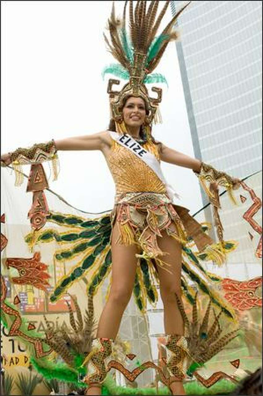 Maria Jeffery, Miss Belize 2007.