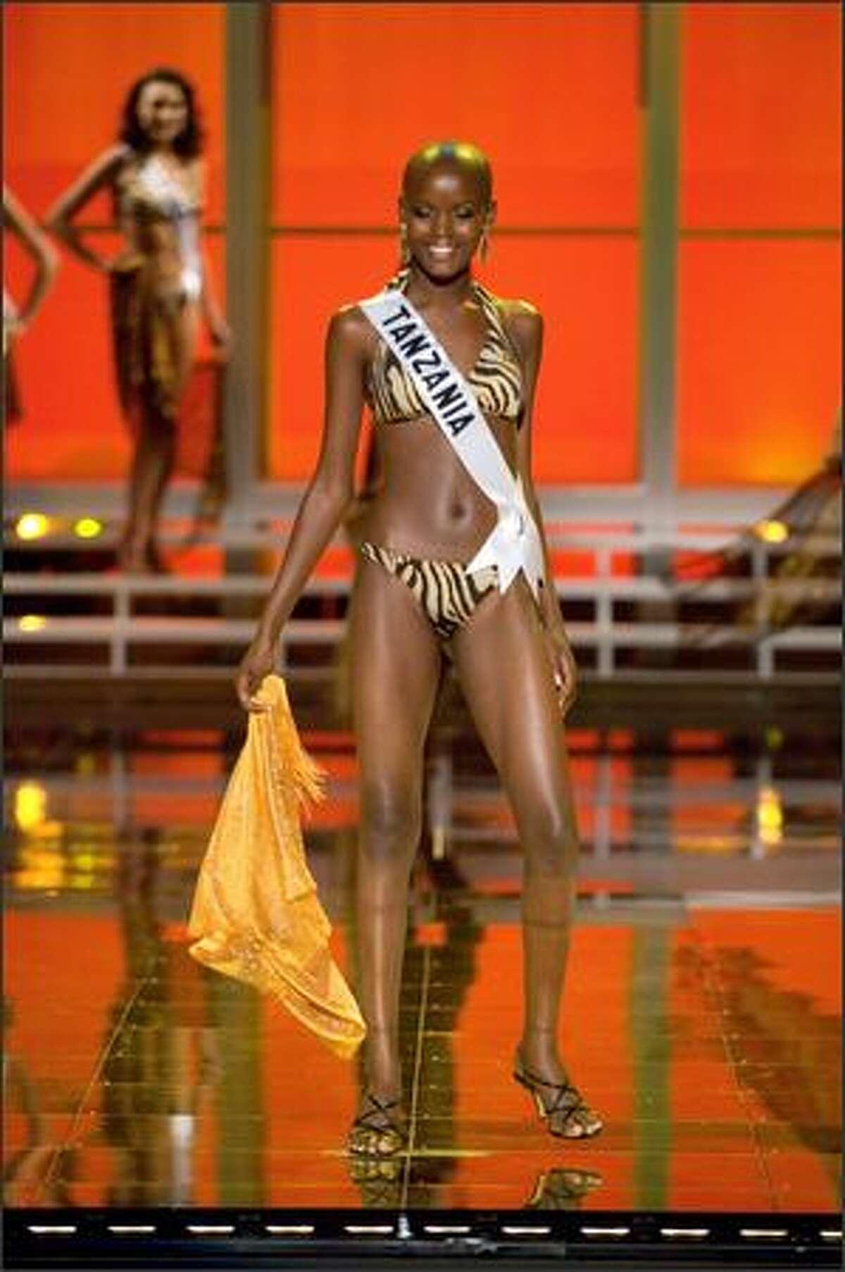 Flaviana Matata, Miss Tanzania 2007.