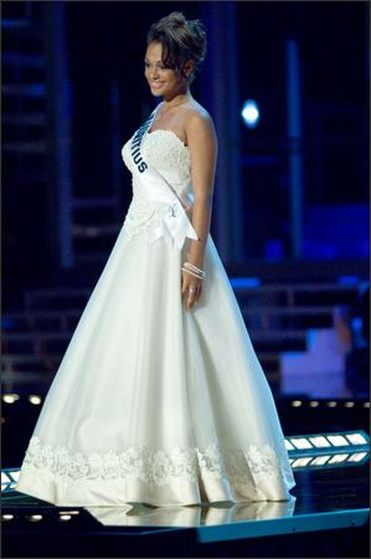 Sandra Faro, Miss Mauritius 2007.
