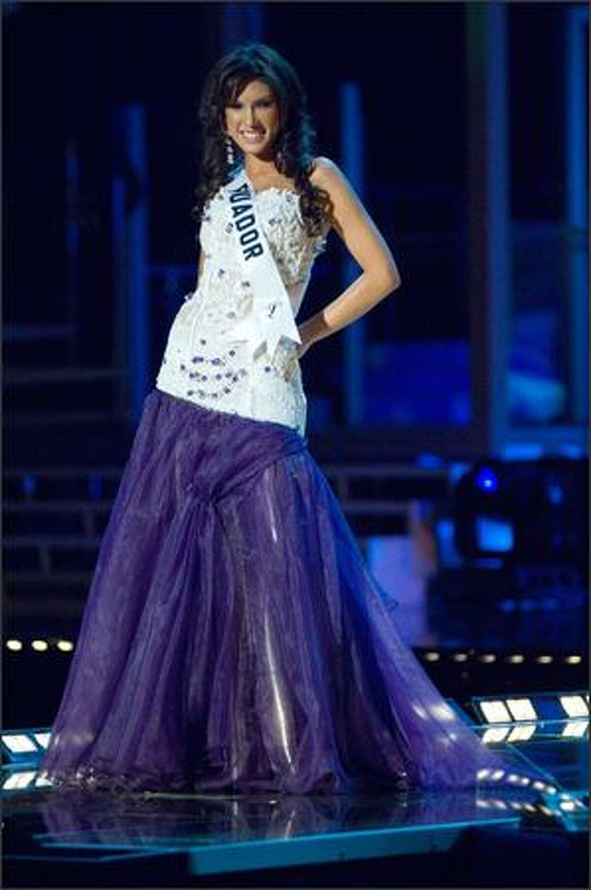Lugina Cabezas, Miss Ecuador 2007.