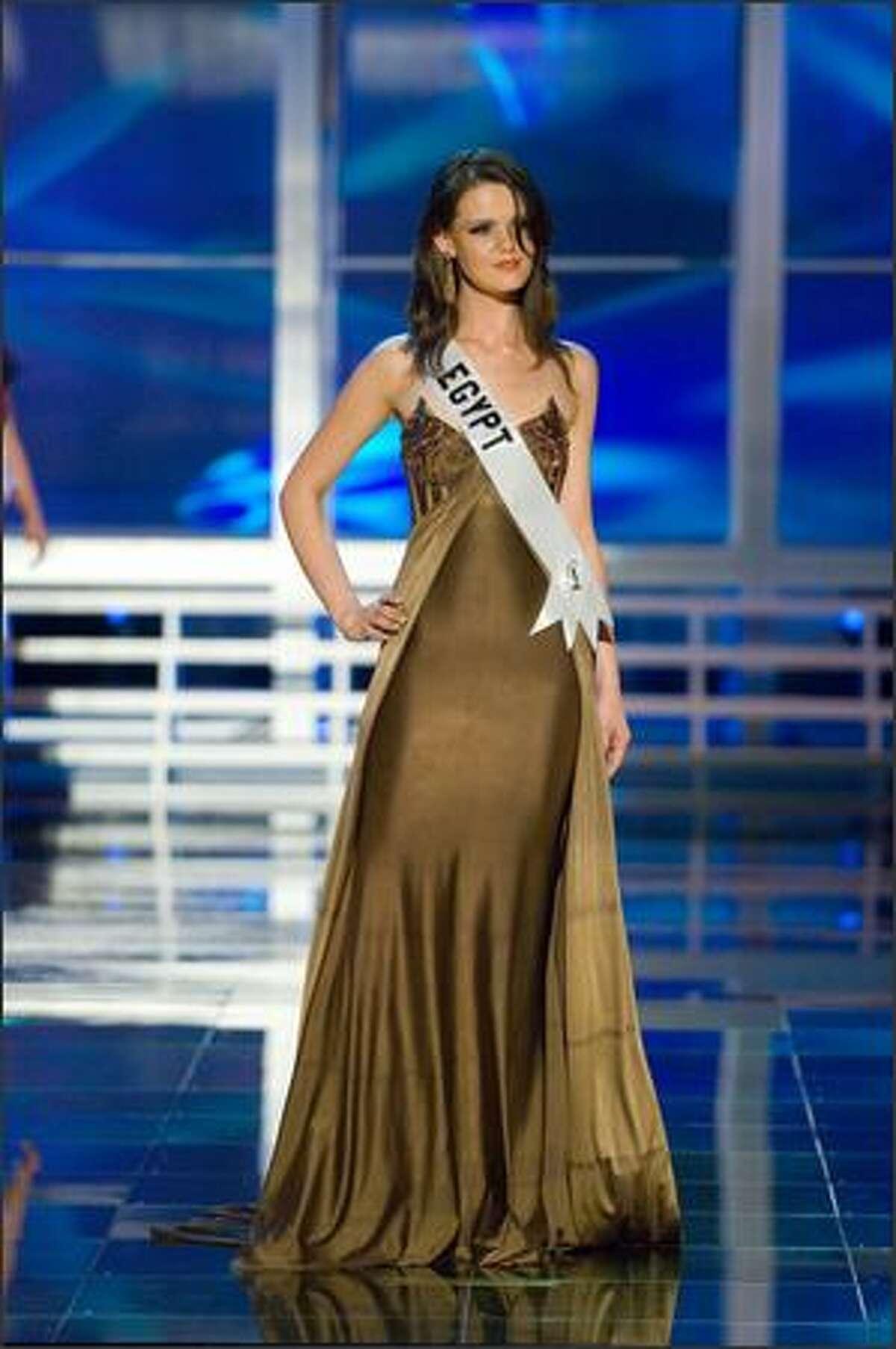 Ehsan Hatem El Kirdany, Miss Egypt 2007.