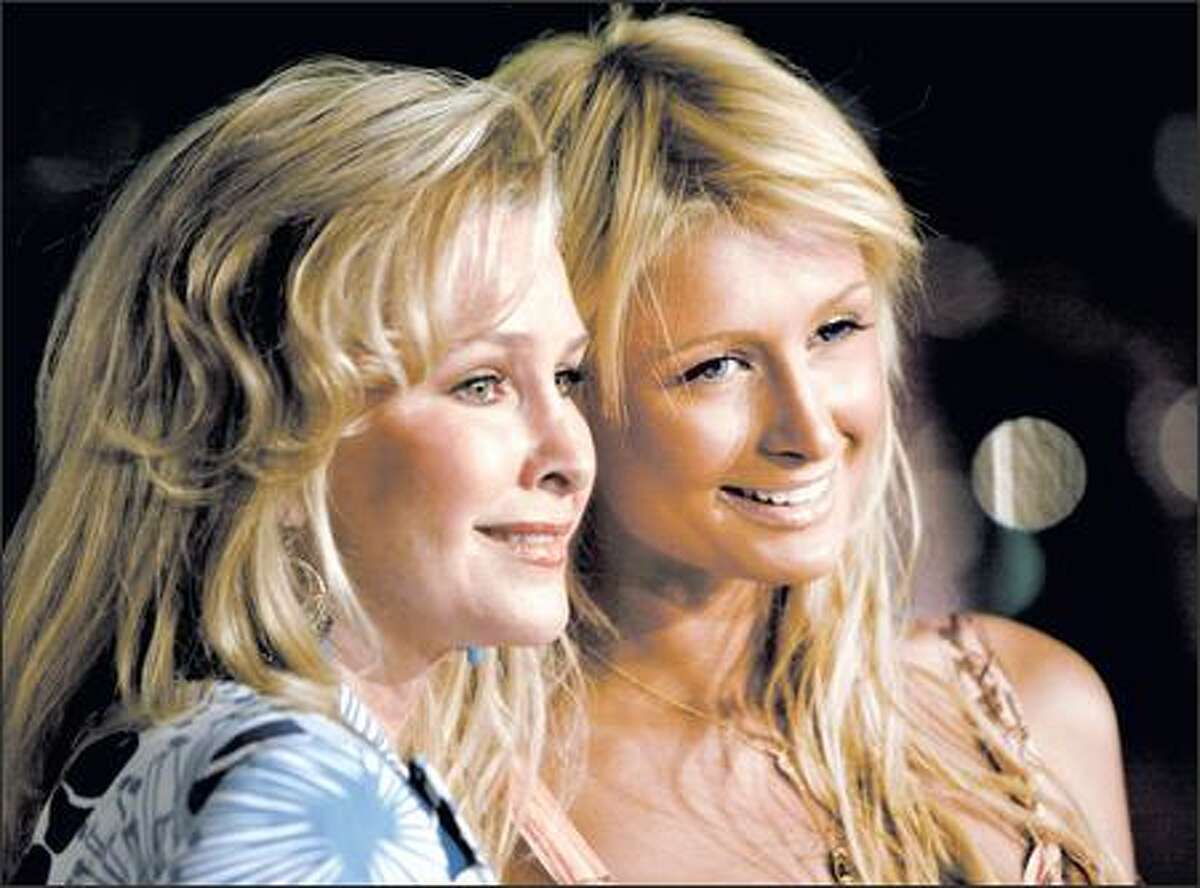 Paris Hilton and her mom were to be grand marshals in L.A.'s annual gay pride parade in 2005.