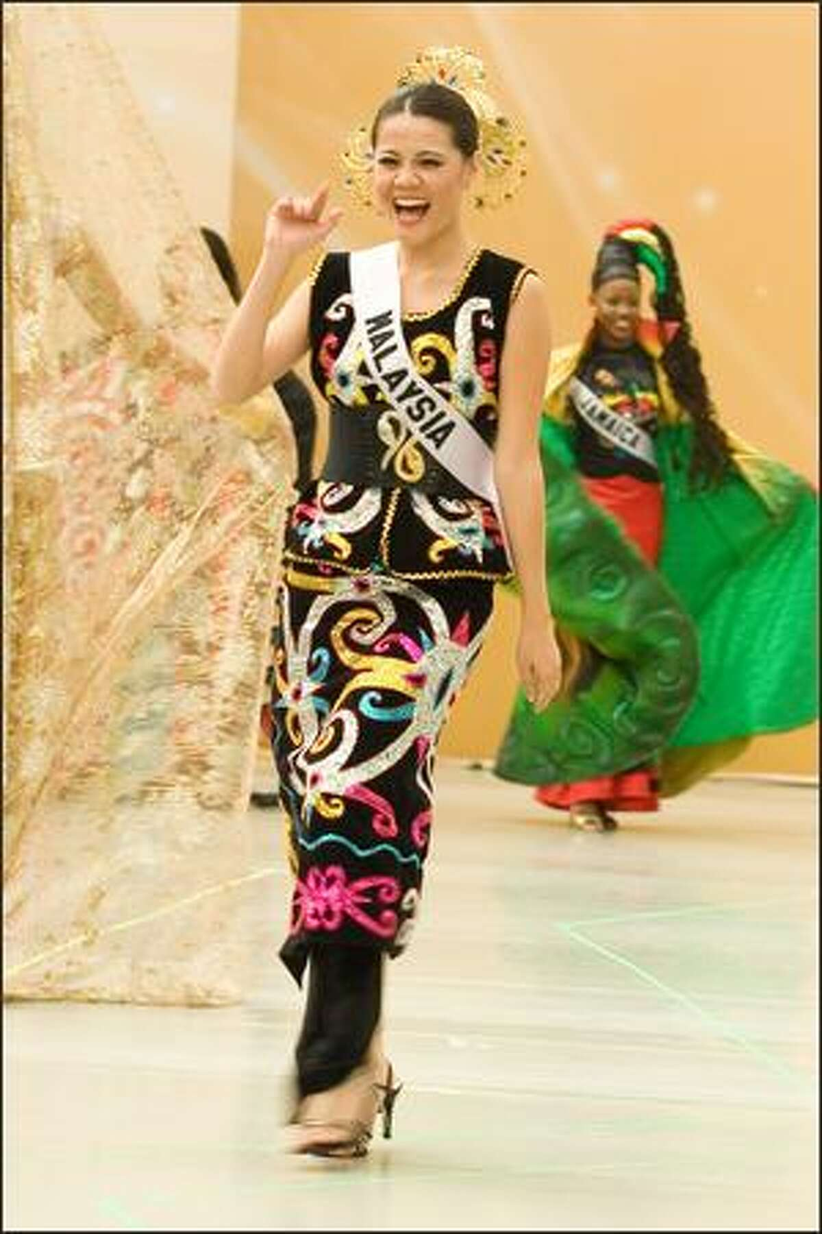 Adelaine Chin, Miss Malaysia 2007.