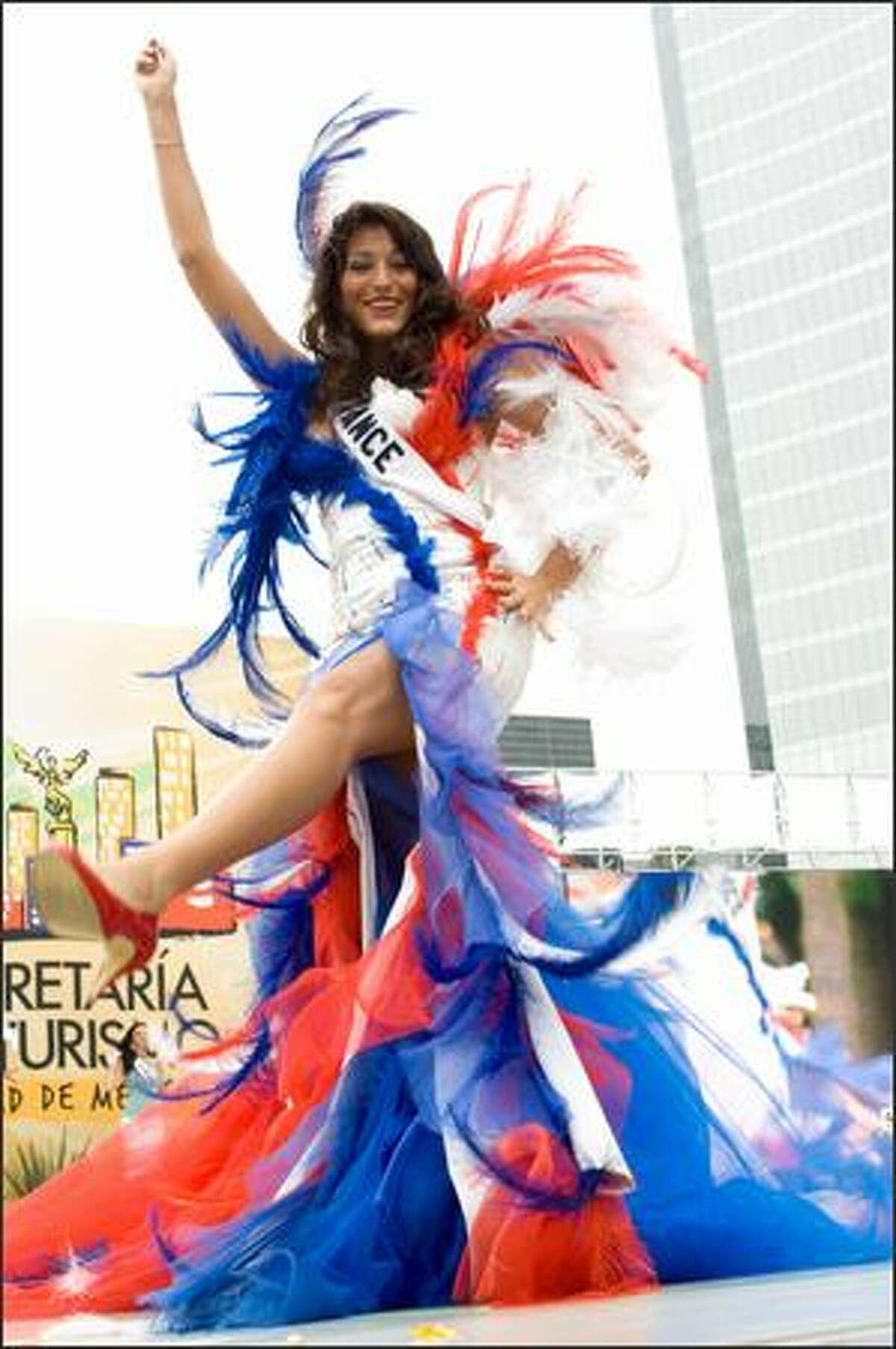 Rachel Legrain-Trapani, Miss France 2007.