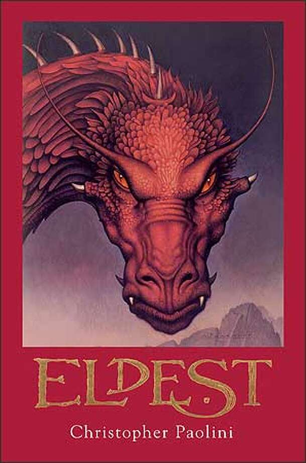 """Cover of """"Eldest,"""" by Christopher Paolini Photo: /"""
