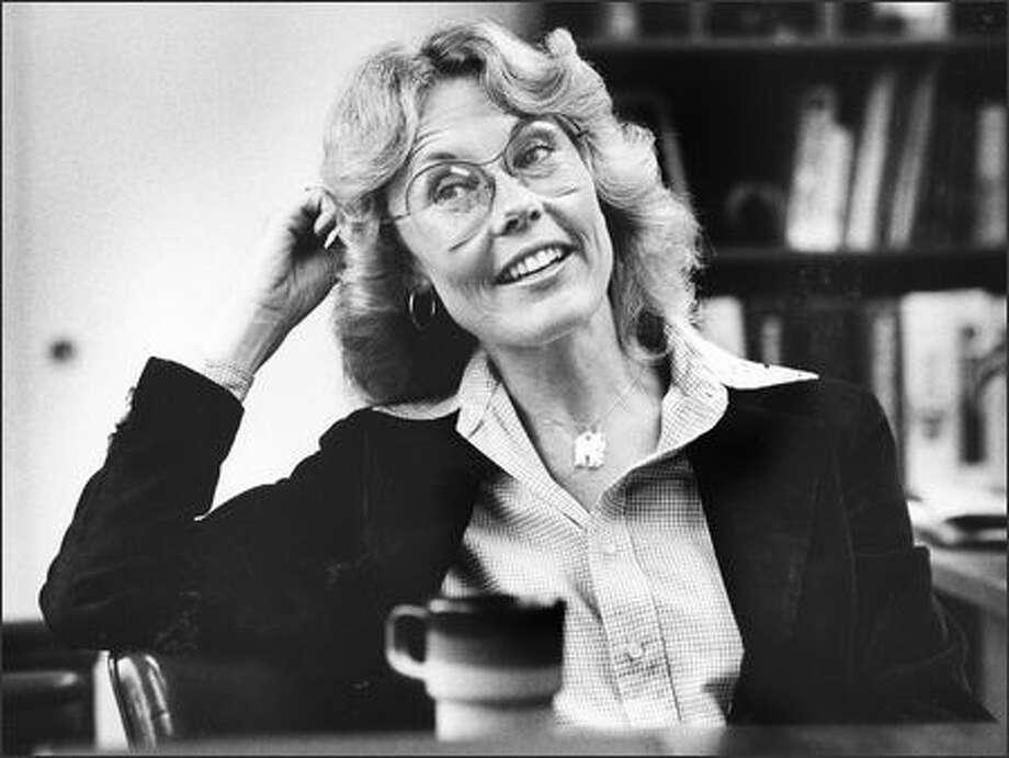 Jennifer Dunn is shown June 19, 1981. Photo: P-I File