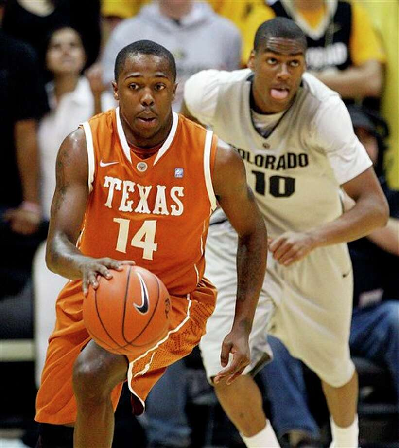 """Texas guard J'Covan Brown says, """"Nobody trusts us. So we really don't have anything to lose"""" today. ASSOCIATED PRESS / AP2011"""