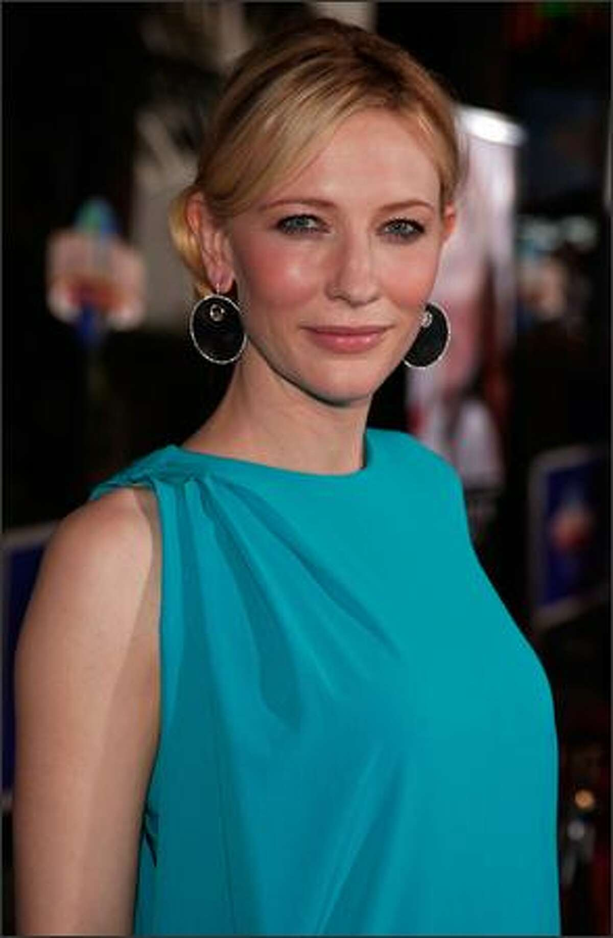 """Actress Cate Blanchett arrives at Universal's """"Elizabeth: The Golden Age"""" at Universal City Walk October 1, 2007 in Universal City, Calif."""