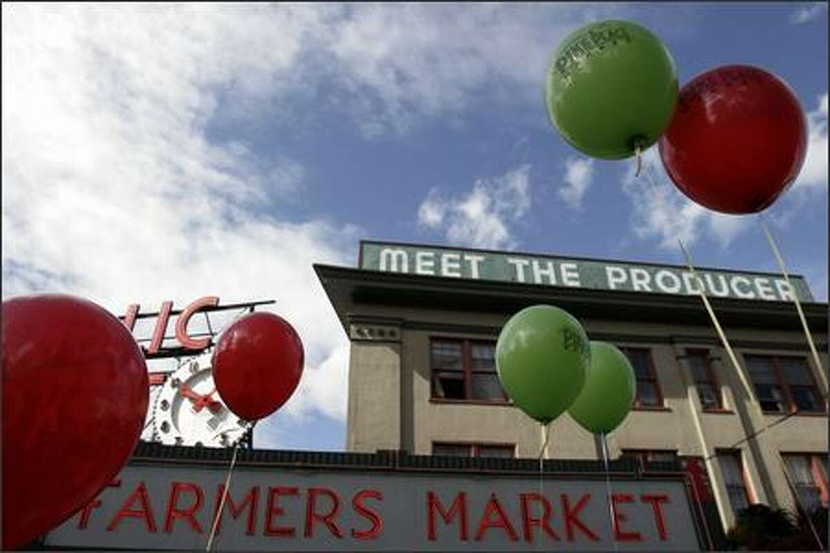 The Pike Place Market celebrates its centennial today, August 17, 2007.