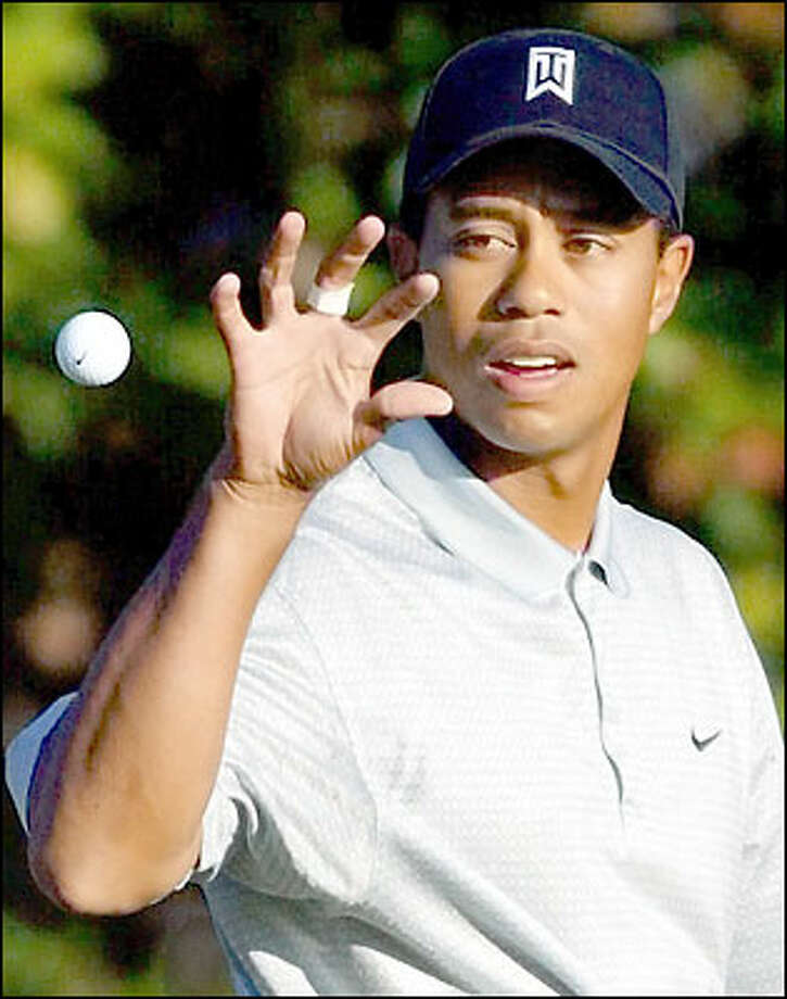 Tiger Woods has won seven of the past 13 major championships and has been No. 1 in the World Golf Rankings 157 consecutive weeks. Photo: Associated Press