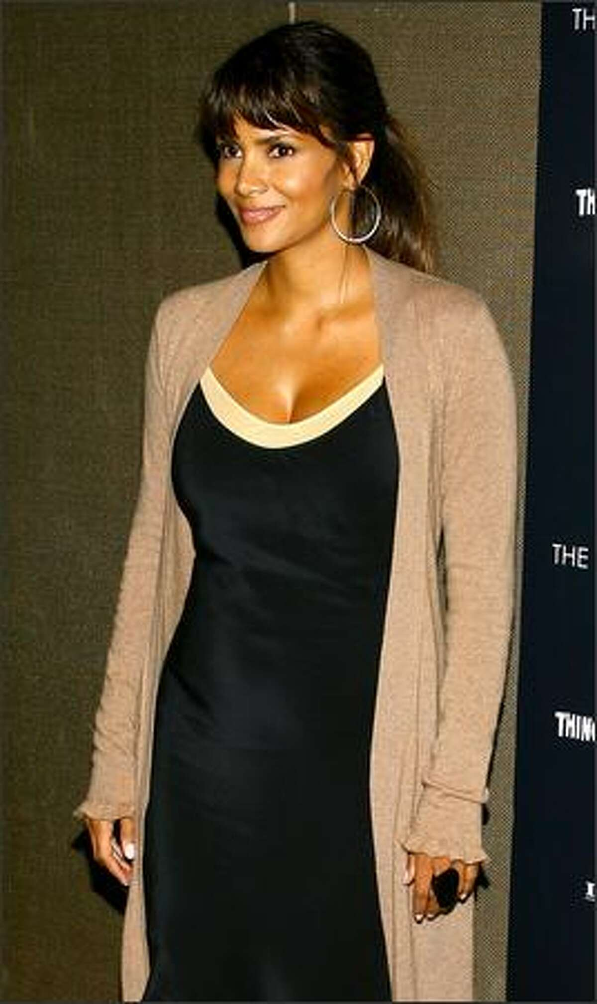 Actress Halle Berry attends the premiere of