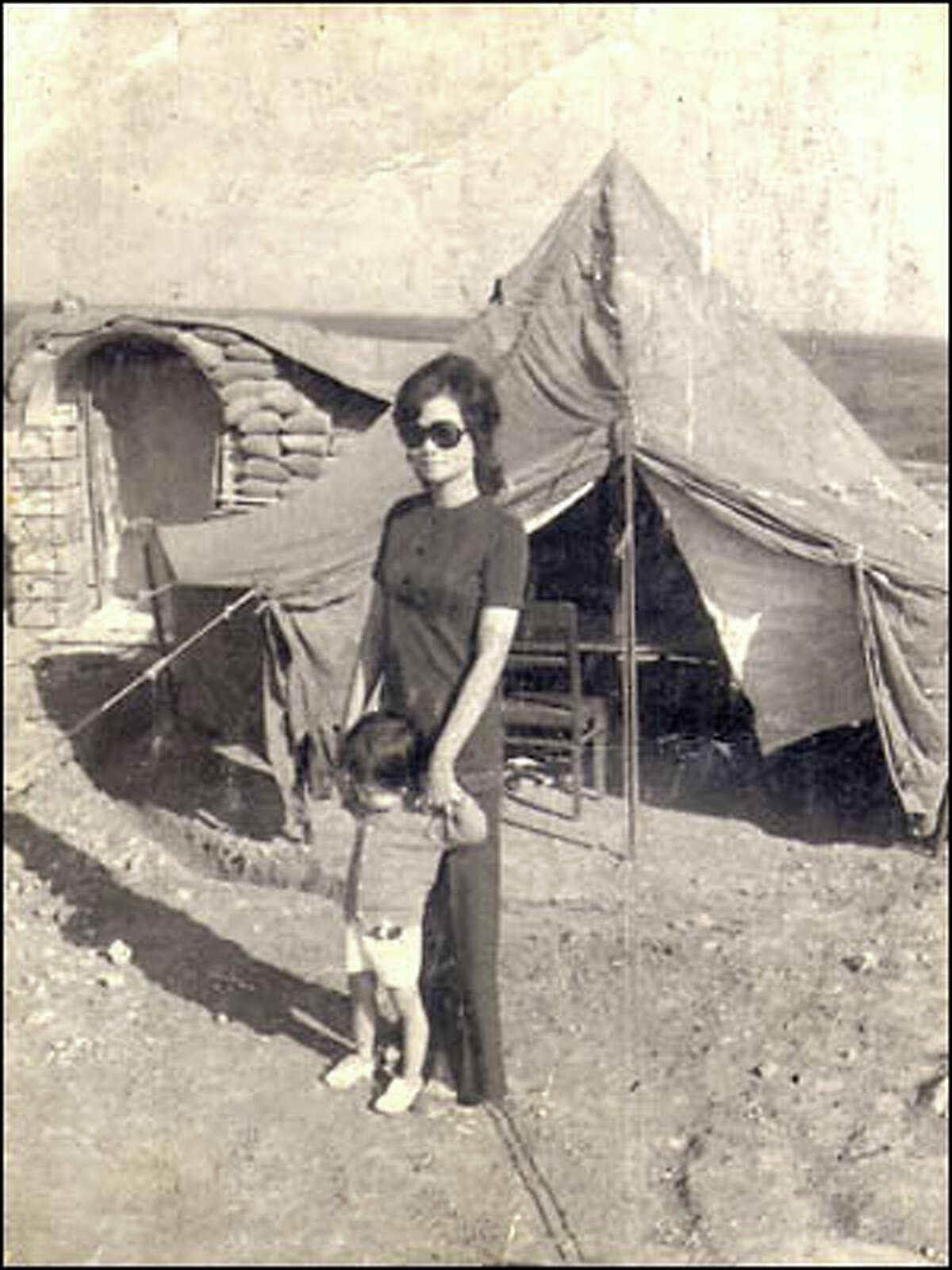 Sen often brought her children to see their father, Me, while he was stationed at army bases during the war. During one break in the fighting in 1972, Sen took 1-1/2-year-old Quyen to the Quang Tri Province.
