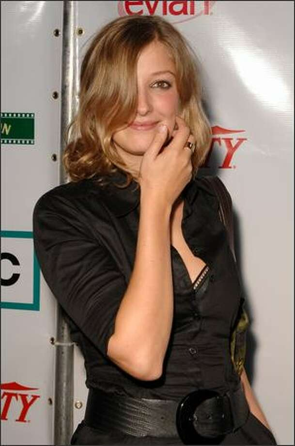 "Actress Alexandra Maria Lara attends the Film Lounge Presented by Variety and AMC for the North American premiere after party for ""Control"" during the Toronto International Film Festival 2007 held at the W Lounge on September 7, 2007 in Toronto, Canada. Photo: Getty Images"