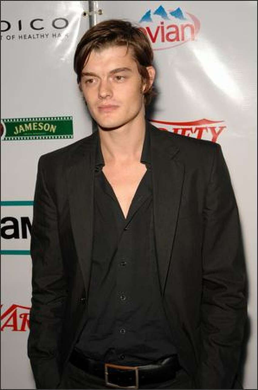 Actor Sam Riley attends the Film Lounge Presented by Variety and AMC for the North American premiere after party for